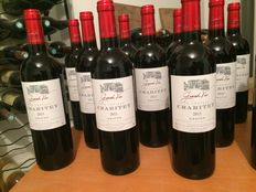 12 bottles, Vertical of nice Graves wines, Château Crabitey - 4 Crabitey 2011, 4 Crabitey 2012, 4 Crabitey 2013