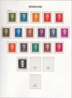 The Netherlands 1945/1969 – Collection in luxurious Davo albums