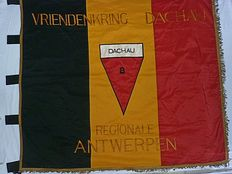 Flag of former concentration camp prisoners, Dachau