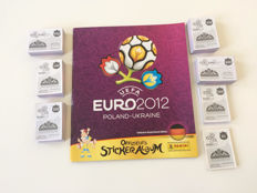 Panini - Euro 2012 Poland/Ukraine - German edition - Empty album + complete matching loose sticker set.