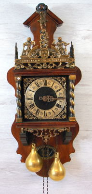 Zaandam clock - JWA WUBA - second half of the 20th century