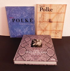 Sigmar Polke; Lot with 3 publications - 1992 / 2017