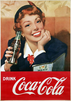 Anonymous - Drink Coca-Cola - c. 1950
