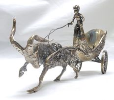 Carriage for table service, silver, Netherlands, 1993