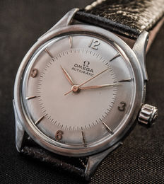 Omega Automatic-scerw back steel case-1959/60s