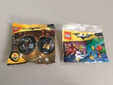 The LEGO Batman Movie - 5004929 + 30607 - Batman Battle Pod + Disco Batman - Tears of Batman