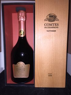 2006 Taittinger Comtes de Champagne Brut Rose, Champagne - 1 bottle (75cl)