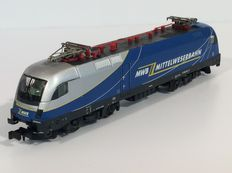 Trix N - 12552 - Electric locomotive Series 1116 of the Mittelweserbahn