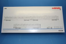 "Märklin H0 - 43229 - Salon Express train carriage set ""50 years of parliamentary board of the BRD"""