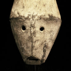 Rare African Tribal LEGA mask Bwami. Democratic Republic Congo.