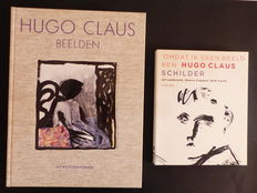Hugo Claus; Lot with 2 publications - 1988 / 2013