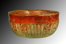 Maya Bowl with Fluted Ribs - 23 cm
