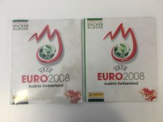 Panini - Euro2008 - Factory seal album with all stickers + extra 1 empty album.
