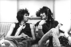 Michael Putland (1947-)/London Features International - Keith Richards e Ron Wood - 1970s