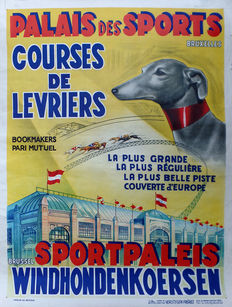 Anonymous - Sports Palace Greyhound races -1930/1950