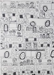 James Rizzi - A Grid Lock Situation