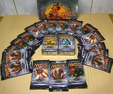 Magic the Gathering: Planar Chaos: 18 boosterpacks+ 2 theme decks- factory sealed