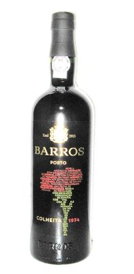 1974 Barros Colheita Port – Bottled in 2017 – 1 bottle