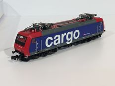 Trix N - 12188 - Electric locomotive RE 482 of the SBB Cargo