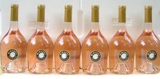 2015 Côtes de Provence Château Miraval (the rosé by Brad Pitt & Angelina Jolie) - Lot of six bottles