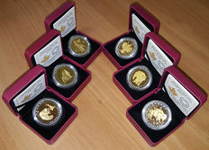 Canada – 20 dollars – 2014 – 'The Seven Sacred Teachings' (6 coins) – Silver.