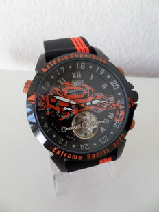 Calvaneo 1583 Astonia SuperBike CM-AS-SW-15 Limited Edition 0085 / 3000  -  Heren Horloge - 2017