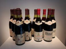 Lot of 11 Bourgognes : 1979  Jaboulet Vercherre -Bourgogne Hautes Cotes de Nuits X 7 bottle - 1985 Dennis Carre -  Hautes Cotes de Beaune X 2 bottle -  1975 Dufouleur - Cotes de Beaune Villages  X 2 bottle