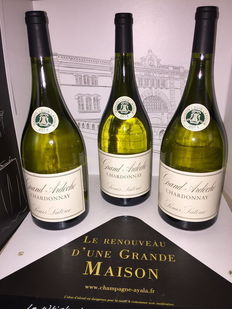 2014 Grand Ardèche Chardonnay Louis Latour – three Magnums (1.5 L).