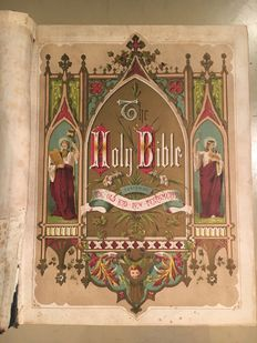Rev. John Eadie - The Holy Bible: The Comprehensive Family Bible - Second Half XIX century