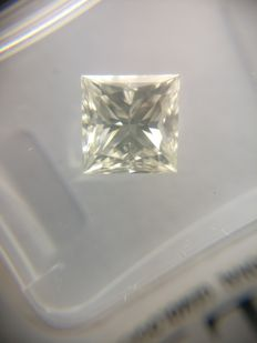 1.16 ct Princess cut diamond G VVS2