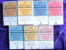 Bernard Shaw - The Bodley Head Bernard Shaw Collected Plays and Their Prefaces - 7 volumes - 1972/1980
