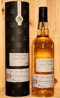 Bowmore 1996 - bottled 2015, Aged 19 Years,  49,2%vol. 70cl/700ml, A.D.Rattray Cask Collection