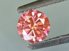 Intense Purple Pink diamond 0.50 ct
