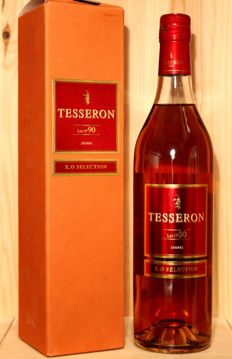 Tesseron Lot No 90 Cognac X.O selection including original gift box, 70cl, 40%vol