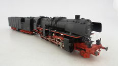 Märklin H0 - 34171 - Steam locomotive and capacitor tender with three working fans, BR52 of the DB