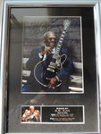 Check out our Beautiful - BB King - Memorial Signed Autograph Signed Picture Framed  Reprinted