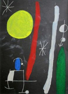 Joan Miró ( after) - Untitled