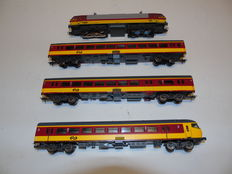 "Lima H0 - 149817AC - Electric 4-piece passenger train set ""ICR Benelux"" 2nd class of the NS"