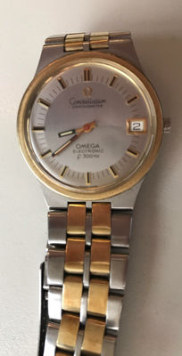 Omega Consellation 18 kt gold & Stainless Steel – 1960