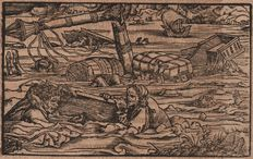 Hans Weiditz (1500-.1536) -The Shipwreck and the fool  - 1531