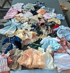 Set of doll clothes