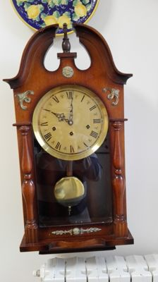 Wall pendulum clock – MAUTHE – 1950s-60s – Westminster – Germany.