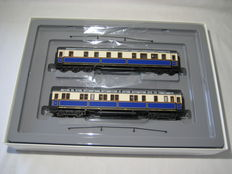 "Märklin H0 - 2861 - 2 ""Kaiser Wilhelm II"" court train carriages of the KPEV, Part 2"
