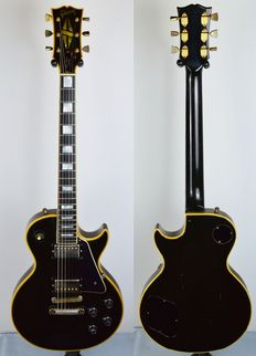 GIBSON LES PAUL CUSTOM BLACK 1972 US import