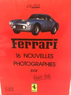 Ferrari - Collection of 16 photographs by Albérie Hass - 30 x 40 cm each