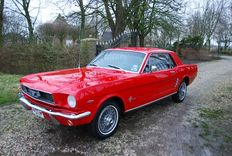 Ford - Mustang V8 Coupé -1965