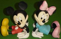 Disney, Walt - 2 Bookends - Mickey & Minnie Mouse (second half of 20th century)