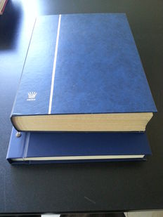 Federal Republic of Germany - Collection and duplication batch in Victoria album and stock book