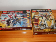 Exo-Force - 7714 + 8106 - Golden Guardian + Aero Booster