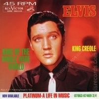 6 coloured first pressing 45 RPM Elvis Presley. MINT